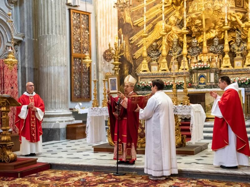 De Donatis a Campitelli: lo Spirito è con noi sempre
