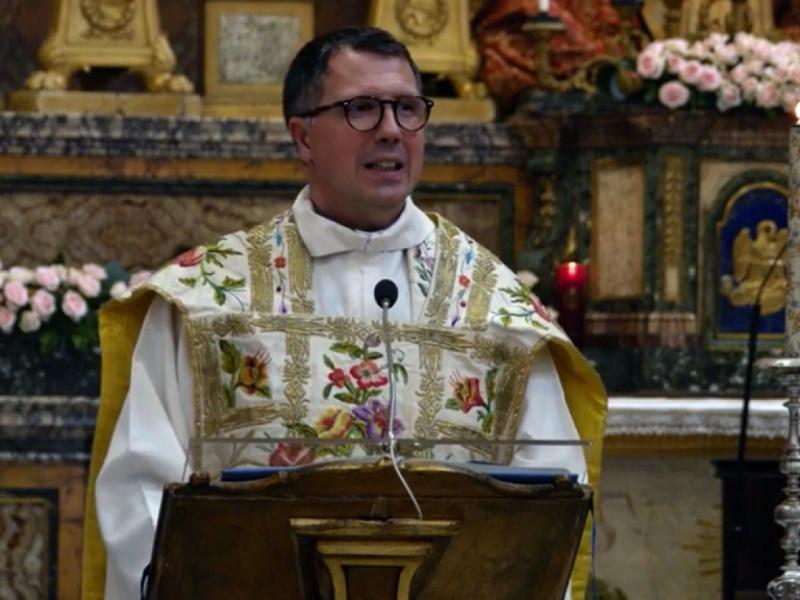 """Don Pedretti per Santa Maria in Portico: """"Dio continua a costruire sapientemente le nostre vite"""""""